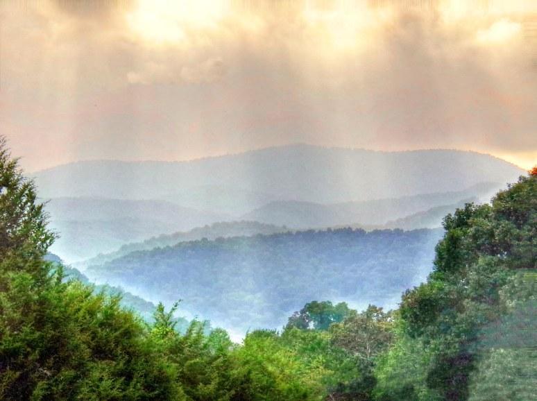 Hickor Nut Mountain Sunbeams
