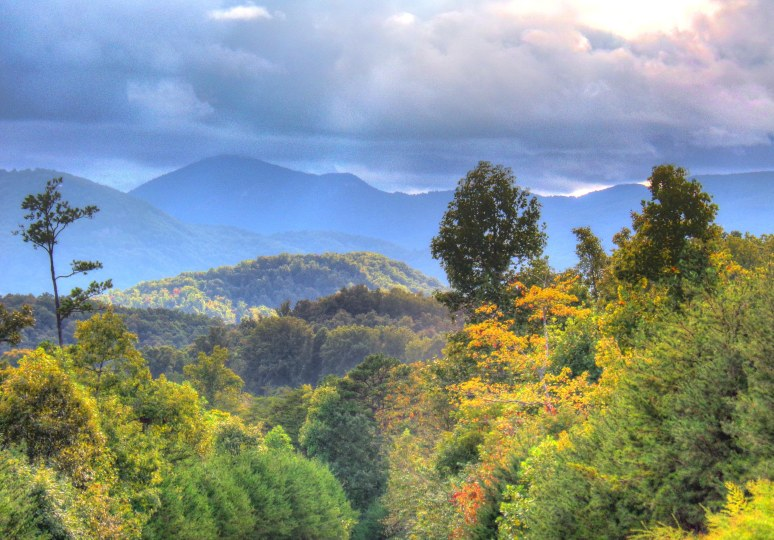 Rutherford County Mountains