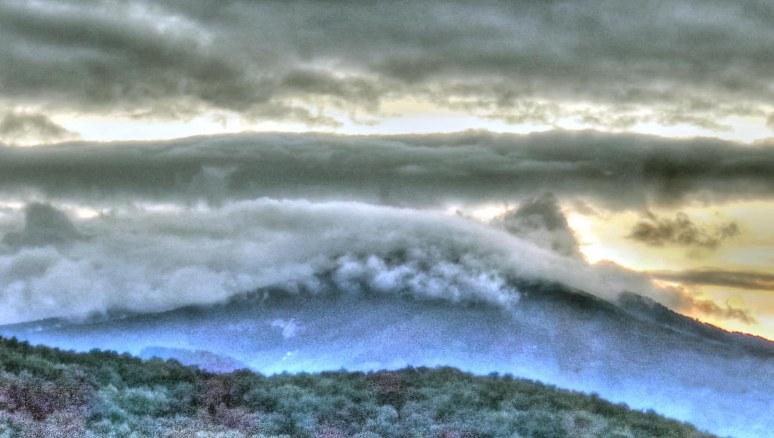 Sugarloaf Mountain Clouds