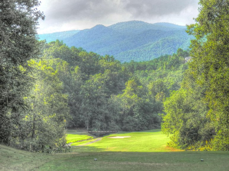 Bald Mountain Golf Tenth Tee