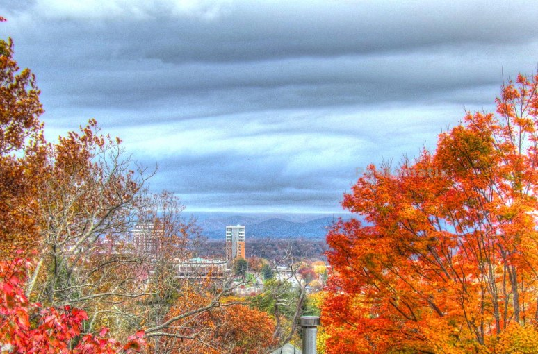 Asheville Fall Skyline