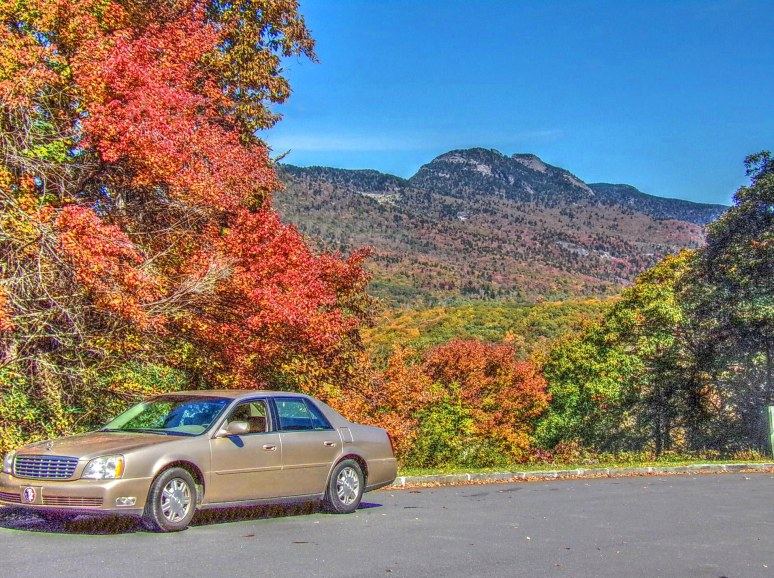 Grandfather Mountain Cadillac
