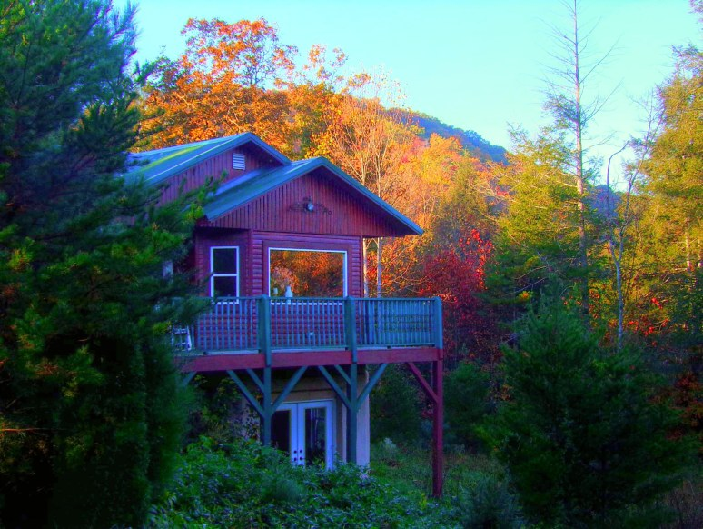 Hemlock House sunrise