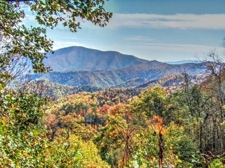 Blue Ridge Parkway Southeast view