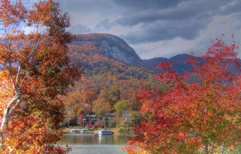 Bald Mountain in Fall