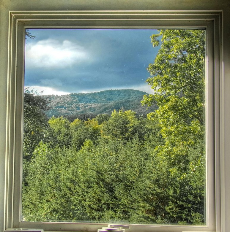 Summer Window at Otter Creek