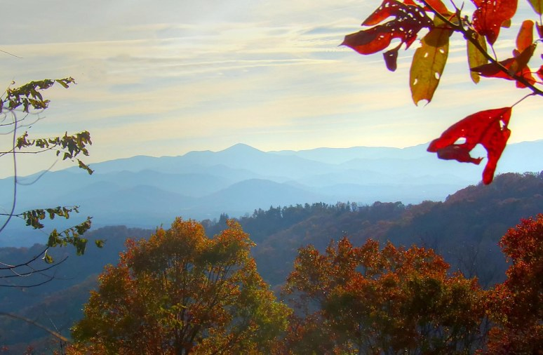 Mt. Pisgah from Town Mountain