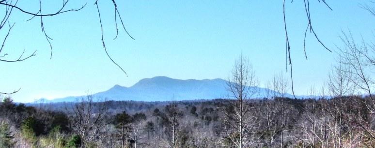 Tryon Mountain from Foothllsi