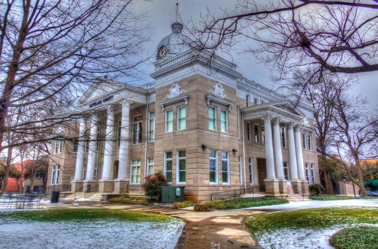 Cleveland County 1907 Courthouse