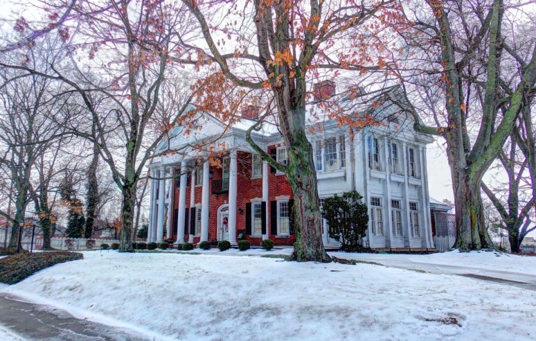 Shelby N.C. Greco-Roman Mansion