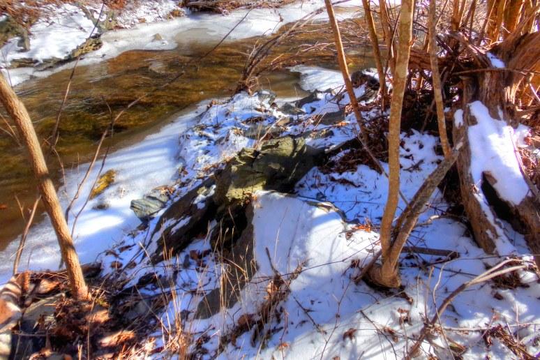 Linville River Snow