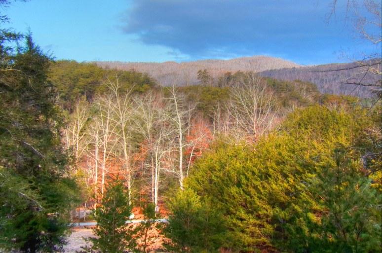 Wolf Pen Mountain at Sunrise