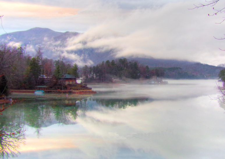 Rumbling Bald Mountain Fog