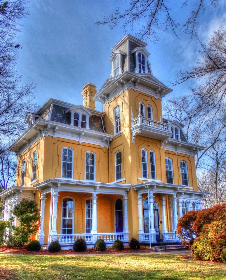 Banker's House 1875 Shelby, N.C.