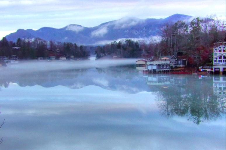 Lake Lure Boat Houses
