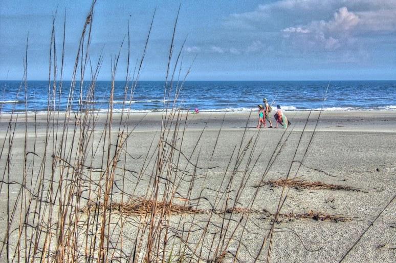 Cumberland Island Beach Family