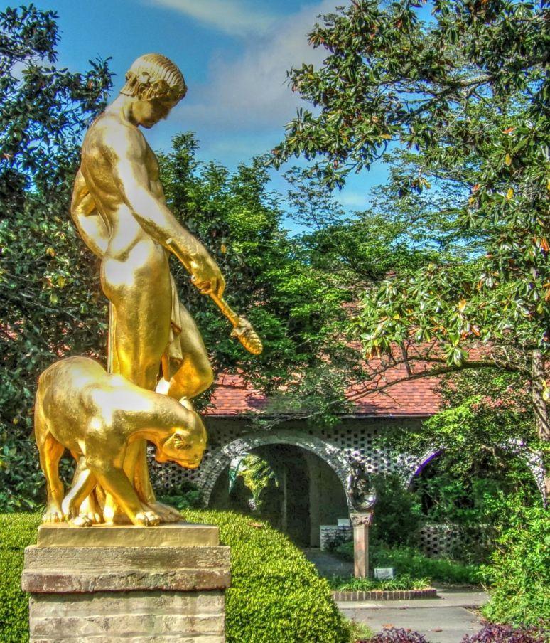 Brookgreen Gold Statue
