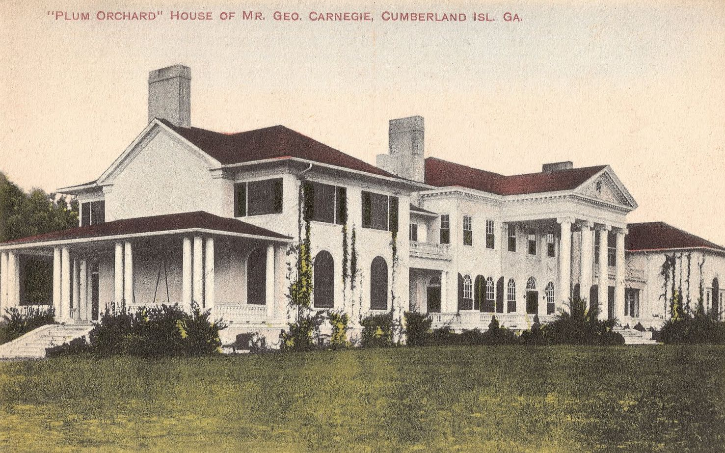 The Carnegie Mansions Of Cumberland Island Georgia Living In The Blue Ridge Mountains Of North Carolina A Blog