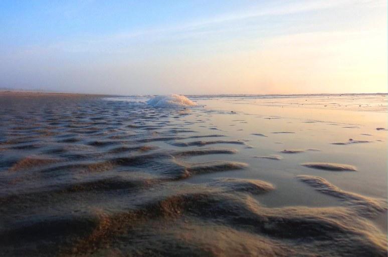 Cumberland Island Sunrise Foam