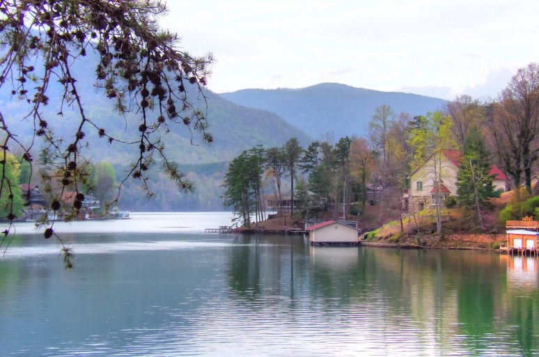 Lake Lure Mountains