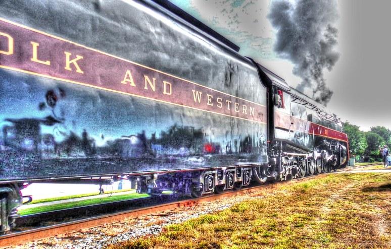 Norfolk and Western 611 Tender