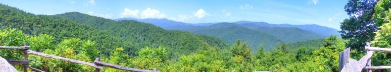 Cataloochee Panorama