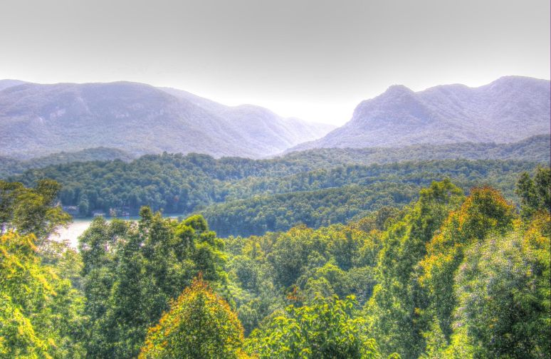 Hickry Nut Gorge Panorama