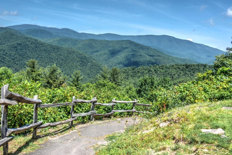 Cataloochee Mountain Fence
