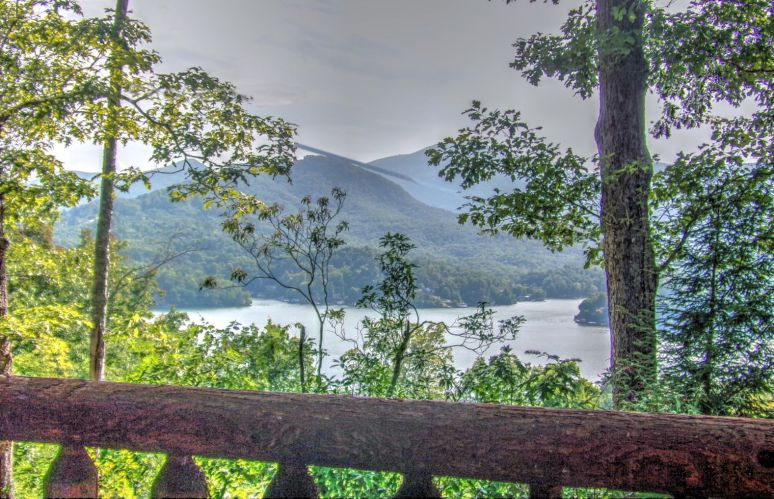 Lake Lure Porch View