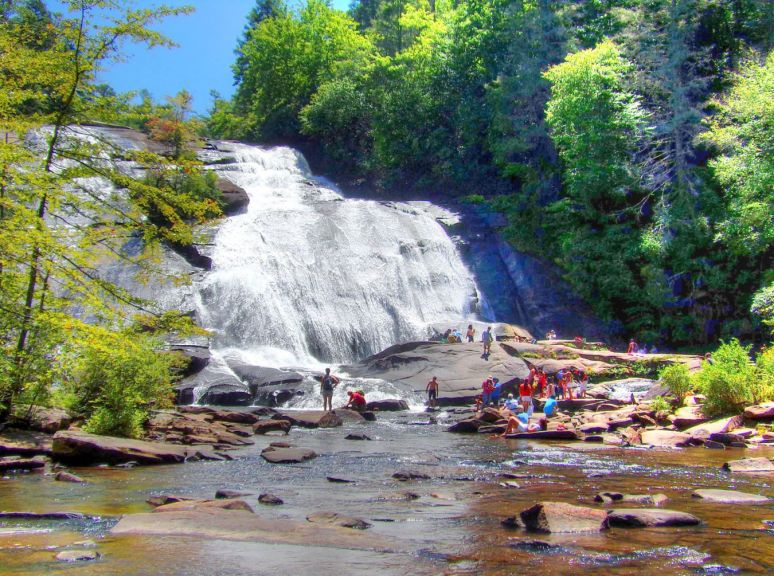 High Fall on Little River