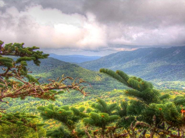 Little Sugar Mountain north view