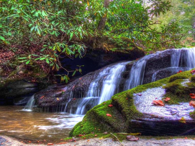 Cedar Creek Gorge Cascade 1