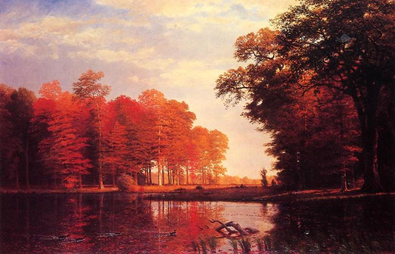 Bierstadt autumn-woods-1886