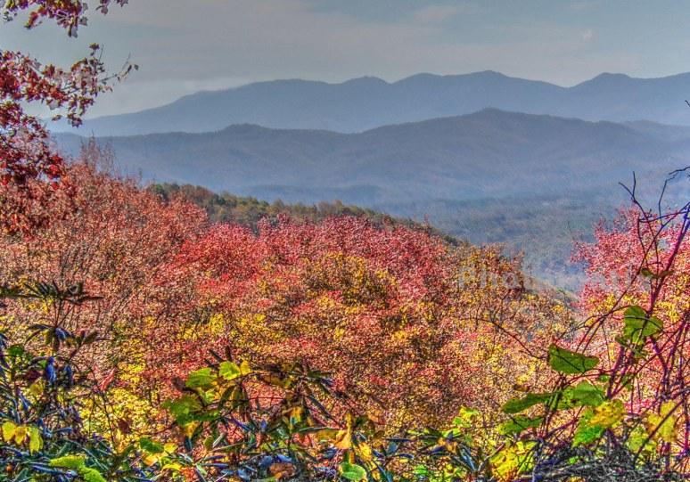 Overlook toward Black Mountains