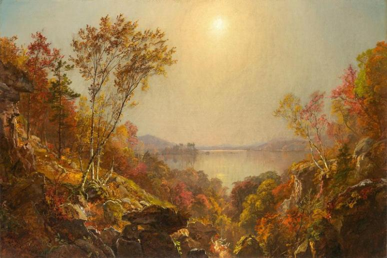 Cropsey-The Greenwood Lake