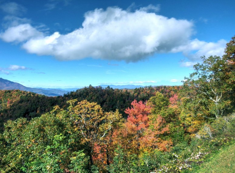 Blue Ridge Parkway cloud