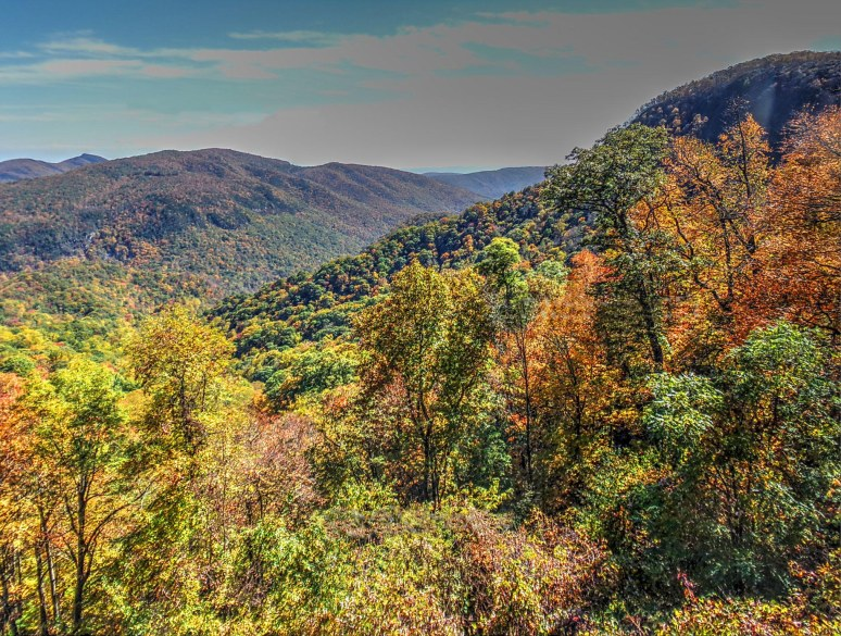 Toward Linville Gorge