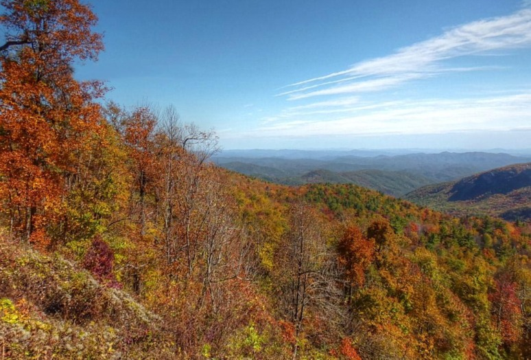Blue Ridge Parkway Toward Morganton