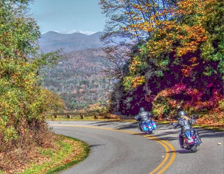 Blue Ridge Parkway Motorcycles