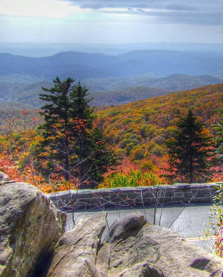 Blue Ridge Parkway Rocks