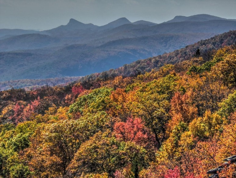 Table Rock from Blue Ridge Parkway