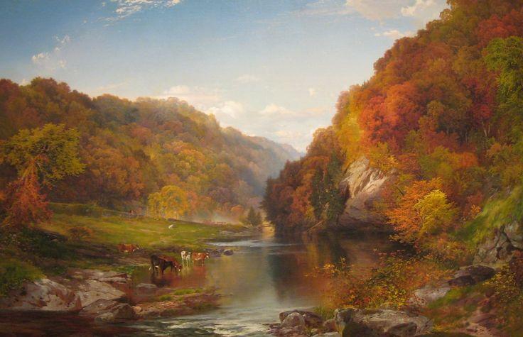 Thomas Moran  1864 Vale