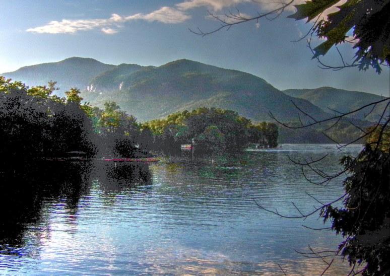 Lake Lure Rumbling Bald Mountain