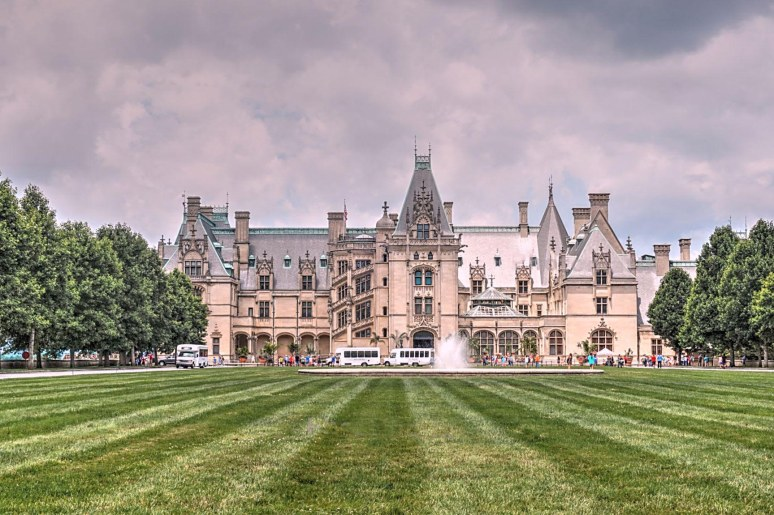 Biltmore House in Summer