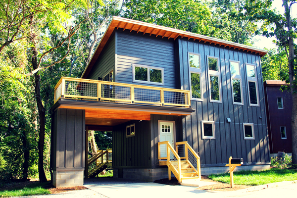 Compact Cottages Asheville home