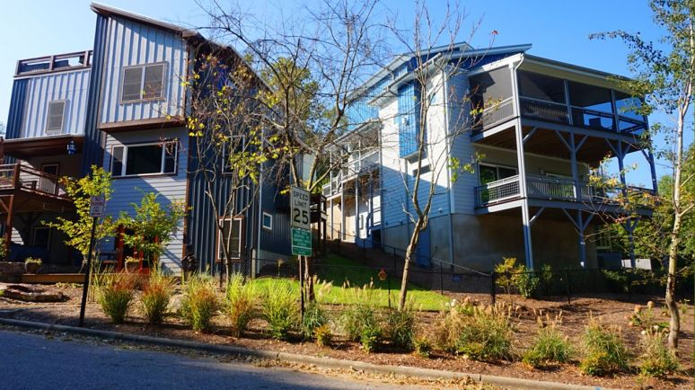 Asheville urban cottages