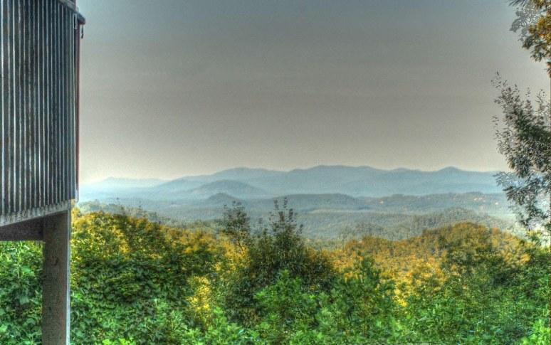 Pinnacle Mountain northwest view