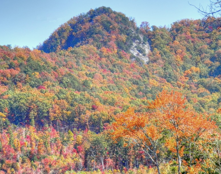Pinnacle Peak in autumn