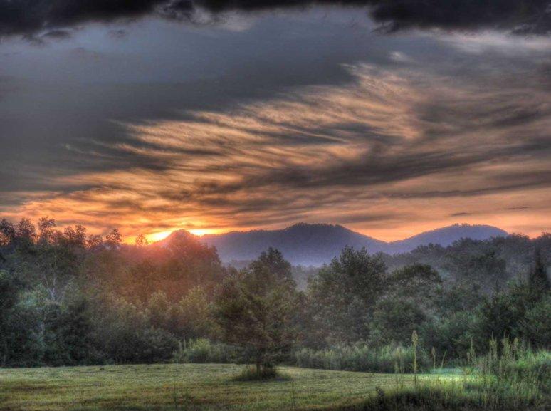 Pinnacle SUnrise