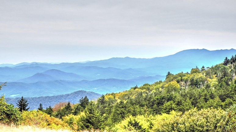 Grandfather Mountain from Roan Balds